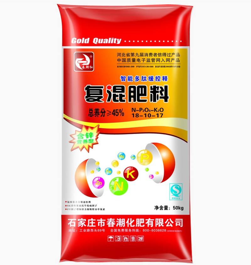 硫酸钾复混肥料NPK 18-10-17
